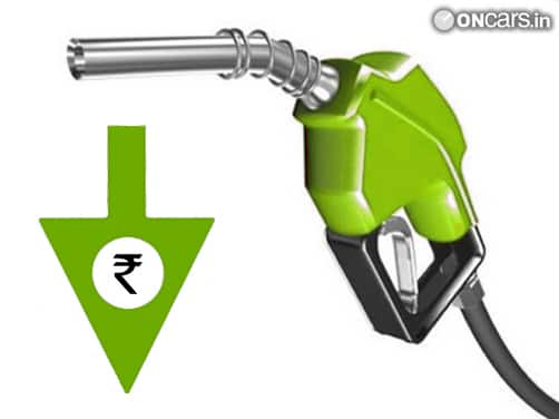 Petrol prices likely to come down by Rs 1.6 a litre