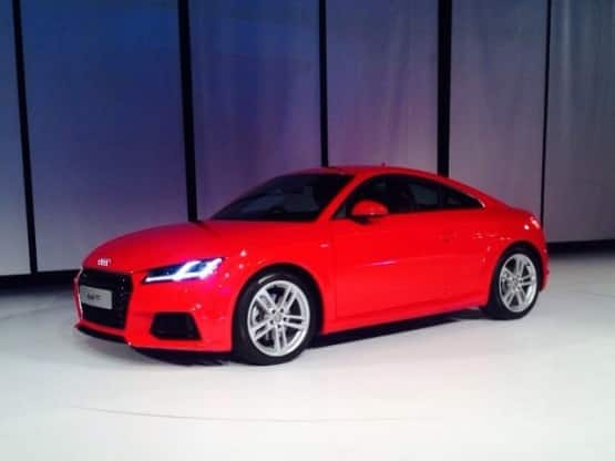 New 2015 Audi TT Coupe Launched: Price in India starts at INR 60.34 lakhs for 2015 TT Coupe