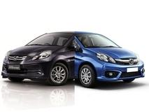 New Honda Amaze 2016 facelift Vs Old Honda Amaze - Comparison