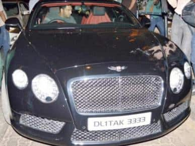 Bentley cars and their famous Indian celebrity owners