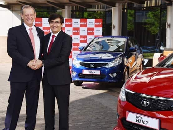 Tata Motors Launches New Bolt Hatchback and Bolt Sedan in Johannesburg, South Africa