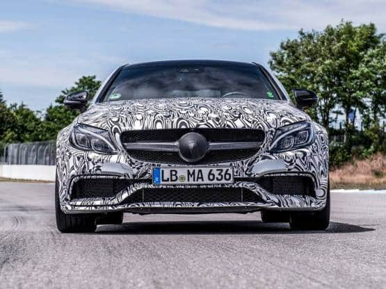 Mercedes-Benz C-Class AMG Coupe to be unveiled on August 19: Get latest images and specification
