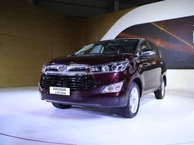 Toyota Innova Crysta in demand; 7000 units sold in a month