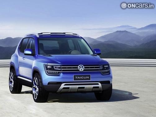 Volkswagen showcases Taigun, a compact SUV concept