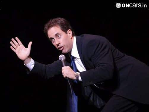 Jerry Seinfeld developing new car show called 'Comics and Cars'