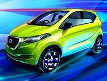Datsun redi Go new sketch reveals final design: Global debut on April 14