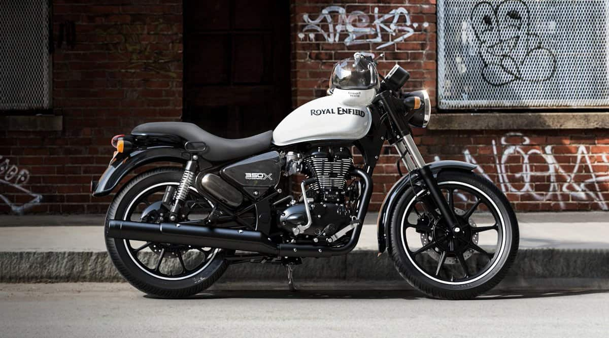 Royal Enfield Thunderbird X Whimsical White