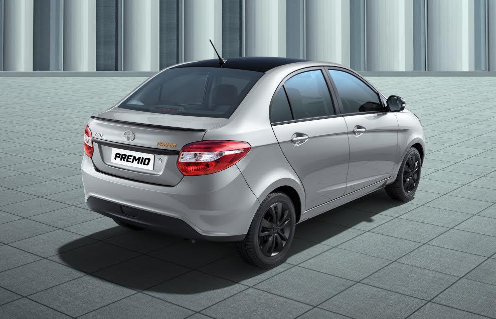 Tata Zest Premio rear