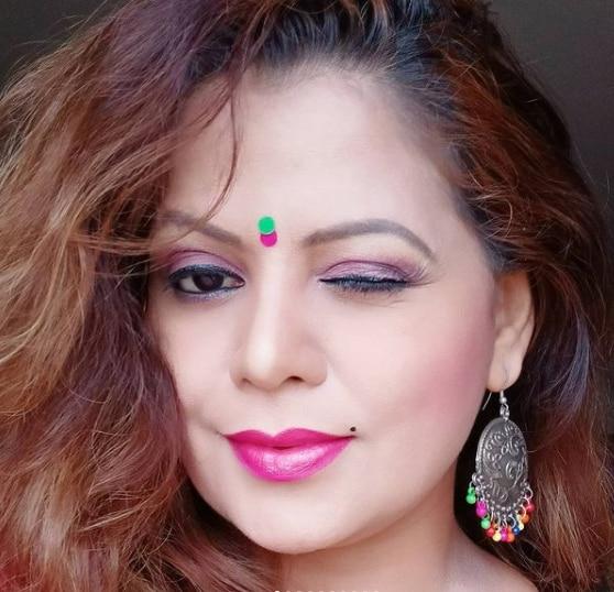 Sapna sappu bold look
