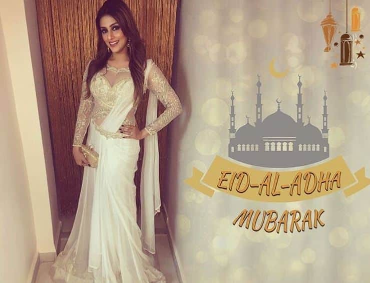 Aarti chabria Wishes happy eid
