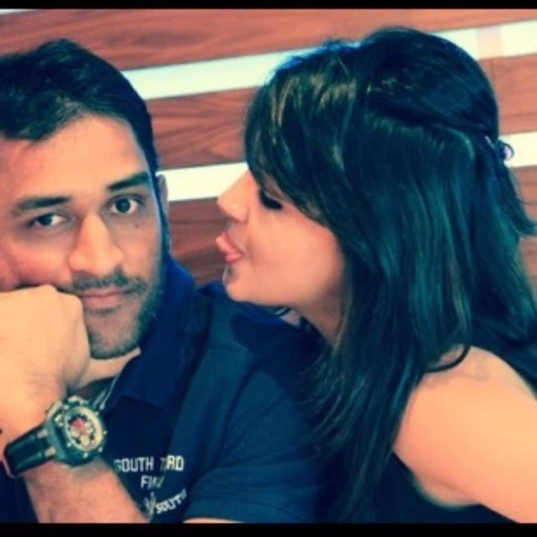 Ms dhoni and sakshi dhoni married life 1