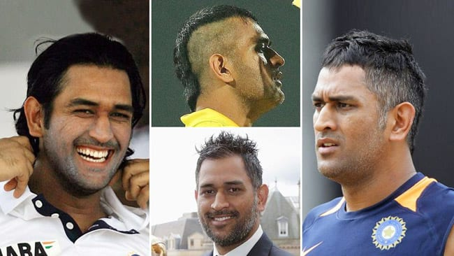 Ms dhoni hairstyles