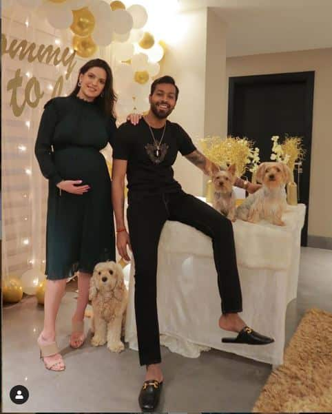 Natasa stankovic with hardik pandya