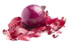 Onion peel use