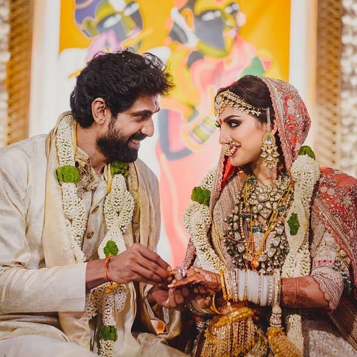 Rana daggubati miheeka bajaj wedding pics8