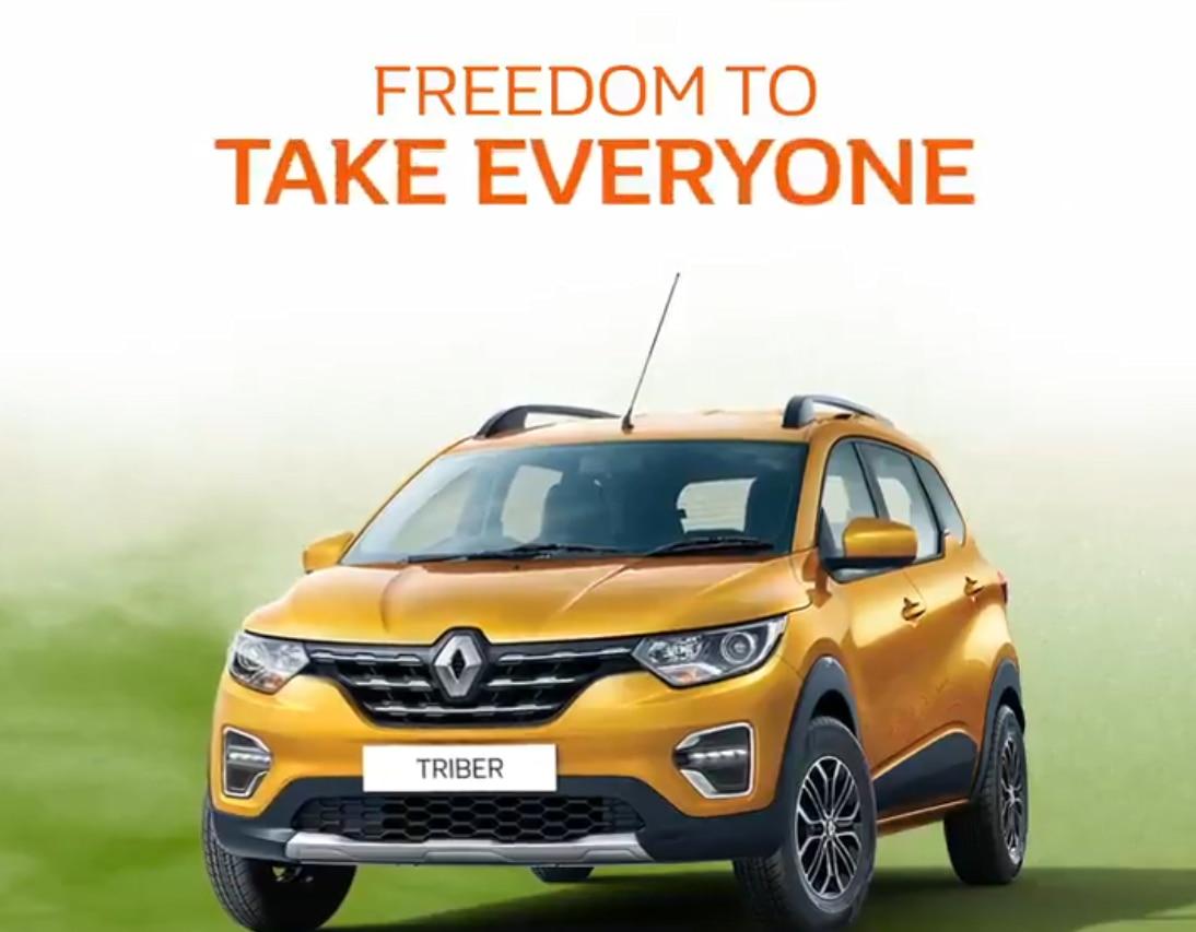 Renault triber 10
