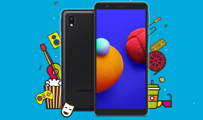 Galaxy m01 core price