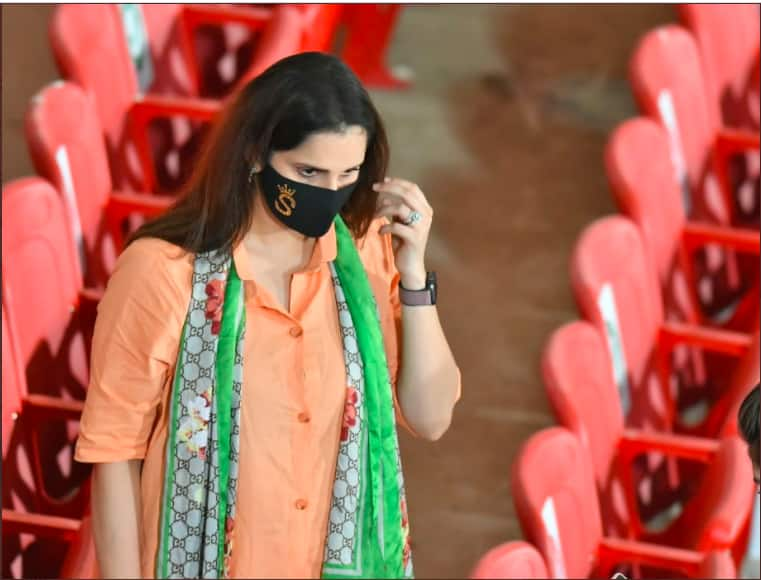 Sania mirza in psl match