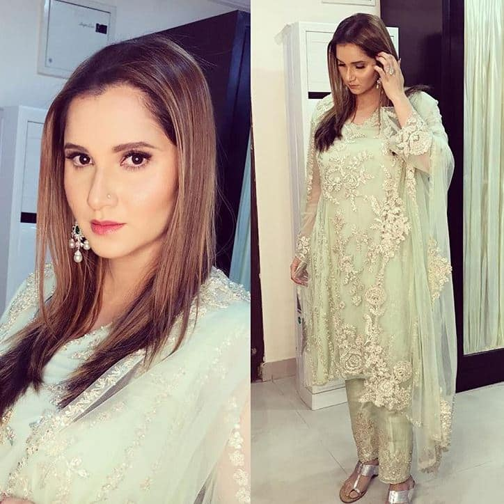Sania Mirza delivery