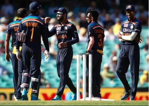 Virat kohli celebrates wicket against australia