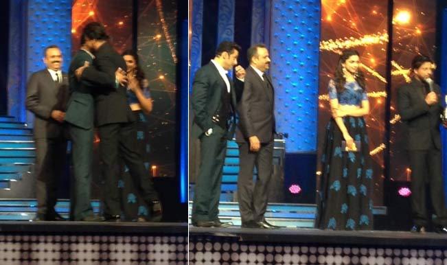 Salman Khan hugs Shahrukh Khan again: The new yaariyan?