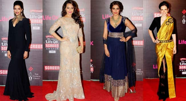 Screen Awards 2014: Which actress looked hot on the red carpet?