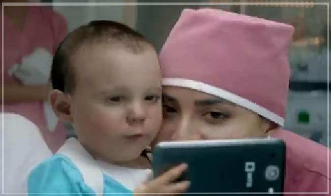 Watch the uber cool MTS Internet Baby taking 'selfies', as MTS targets 'net gen'