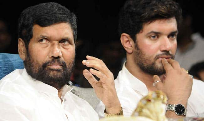 Ram Vilas Paswan's LJP to take a decision on tie-up with BJP