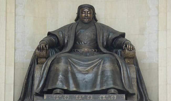 Genghis Khan owes his vast empire to unusual climate conditions!