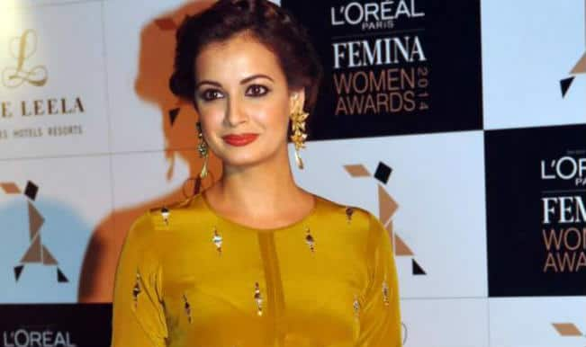 Dia Mirza announces her engagment to Sahil Sangha on Twitter!