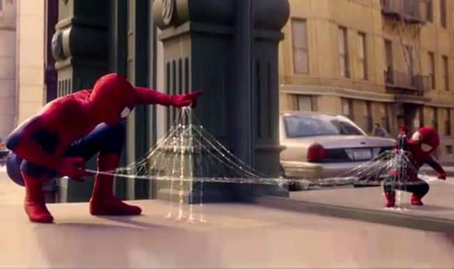 [Watch] Evian shows the cutest li'l Spider-Man in its new The Amazing Baby & Me 2 ad!