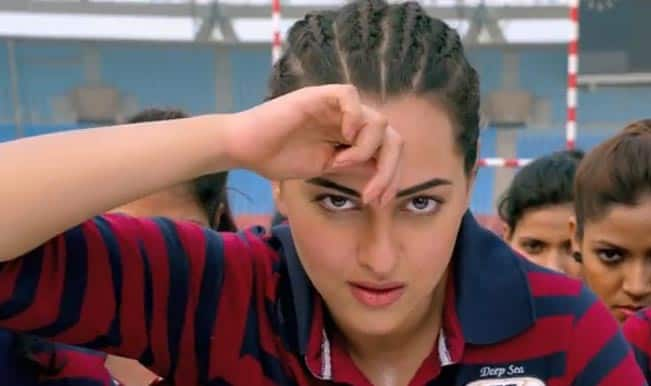 'Tu Hi Toh Hai' song from Holiday: This peppy number is all about Sonakshi Sinha's sportswoman act!