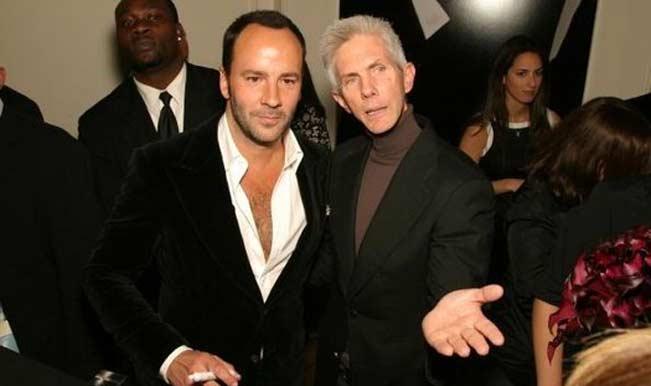 Fashion Designer Tom Ford Marries Gay Partner Richard Buckley India Com