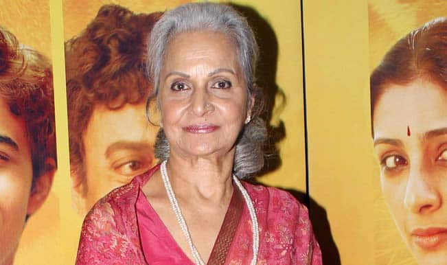 Waheeda Rehman: I'm happy women-centric movies are doing well lately