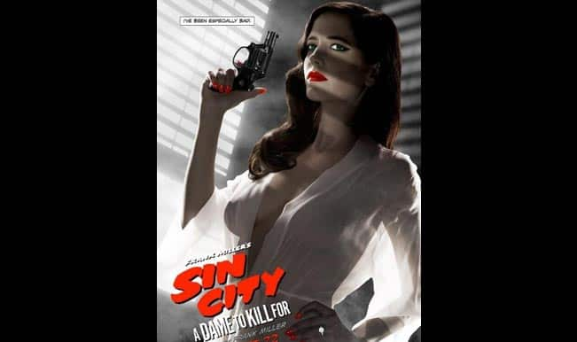 Eva Green's raunchy movie poster banned | Entertainment