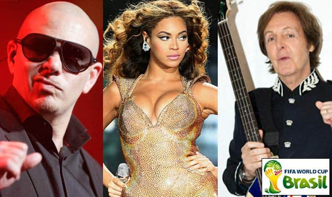 FIFA World Cup 2014: Pitbull, Beyonce and The Beatles' Sir Paul McCartney to perform at Opening Ceremony!