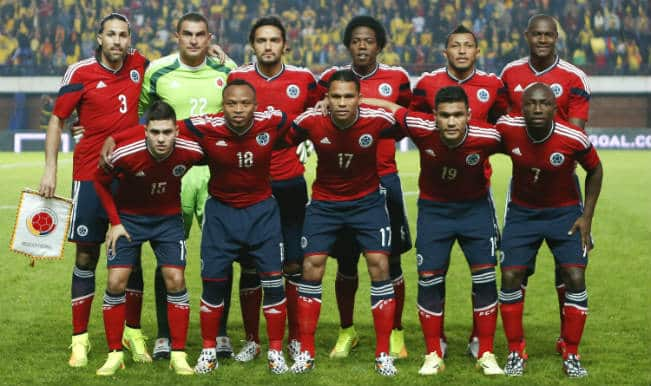 FIFA World Cup 2014 Colombia Squad: Football Team & Player List