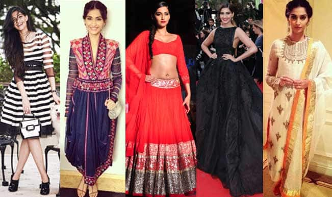 Sonam Kapoor's style diary: Check out the top 5 trendy looks of the birthday girl