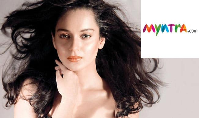 Kangana Ranaut roped in as face of Myntra's DressBerry