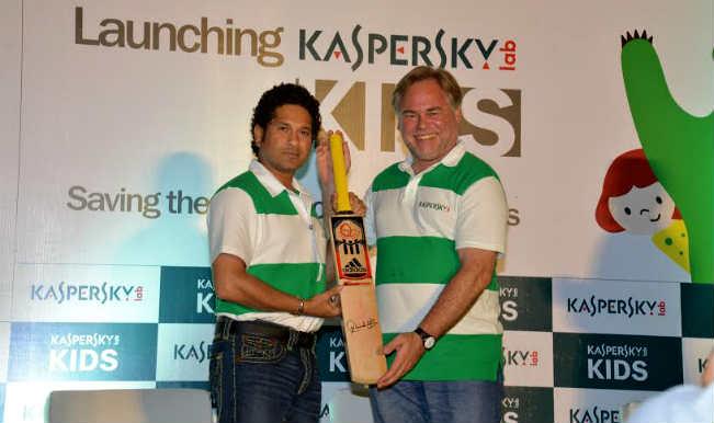Sachin tendulkar kaspersky event