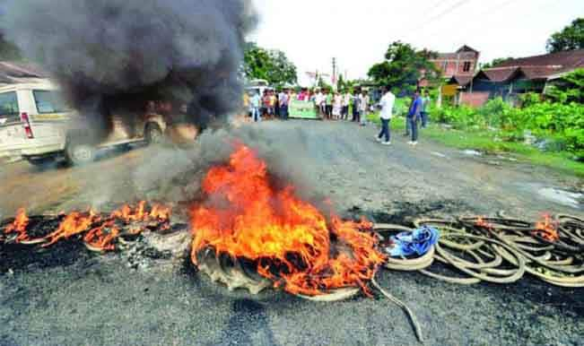 Situation returning to normalcy, night curfew on in Golaghat