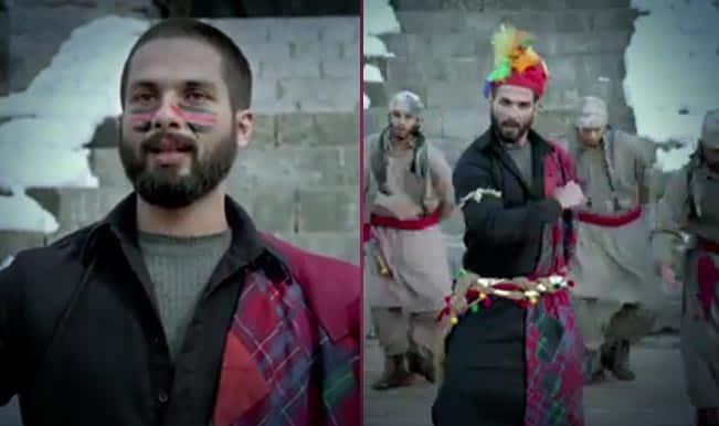 Haider song 'Bismil': Shahid Kapoor dons Kashmiri folk dance shoes in this traditional track