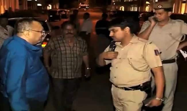 Watch: Are wealthy drunkards allowed to abuse policemen?