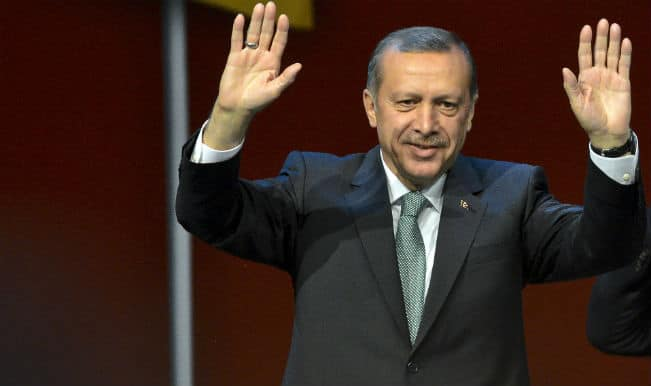 Turkish Prime Minister Recep Tayyip Erdogan vows to Turkey to a new era after winning Presidential elections