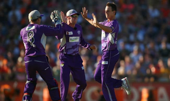Champions League T20 (CLT20) 2014: Hobart Hurricanes (HBH) beat Barbados Tridents (BT) by 6 wickets