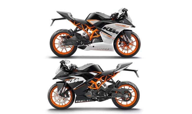 Ktm Rc 200 390 Launch In India Live Streaming Ktm Rc 200 And Ktm Rc 390 Price In India India Com