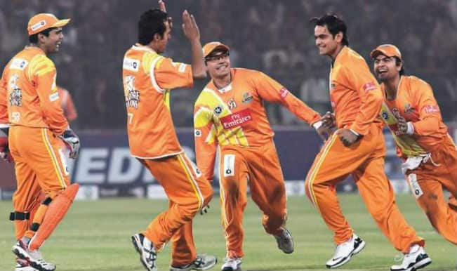 Lahore Lions Team in Champions League T20 2014