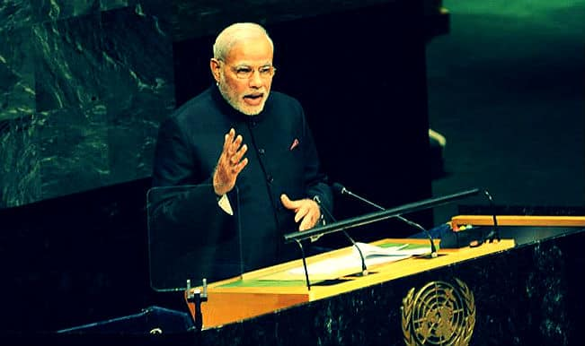Narendra Modi speech at United Nations General Assembly: Watch full speech video
