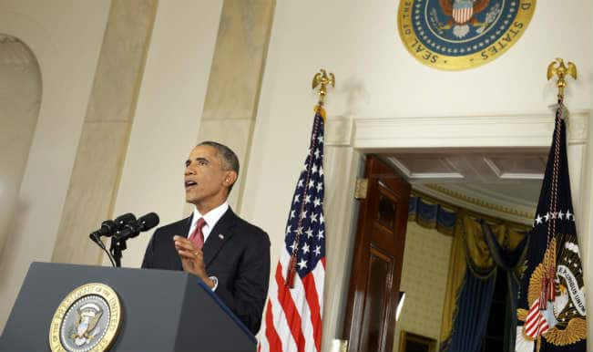 Obama urges Senate to take final step to train Syrian rebels