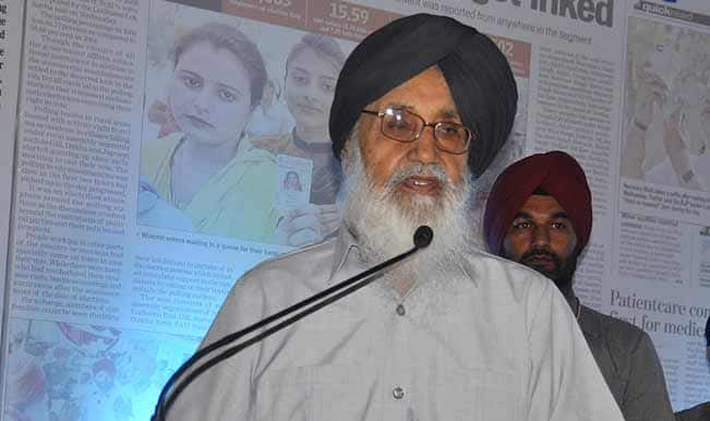 BJP wants Parkash Singh Badal to keep away from campaigning for INLD in Haryana